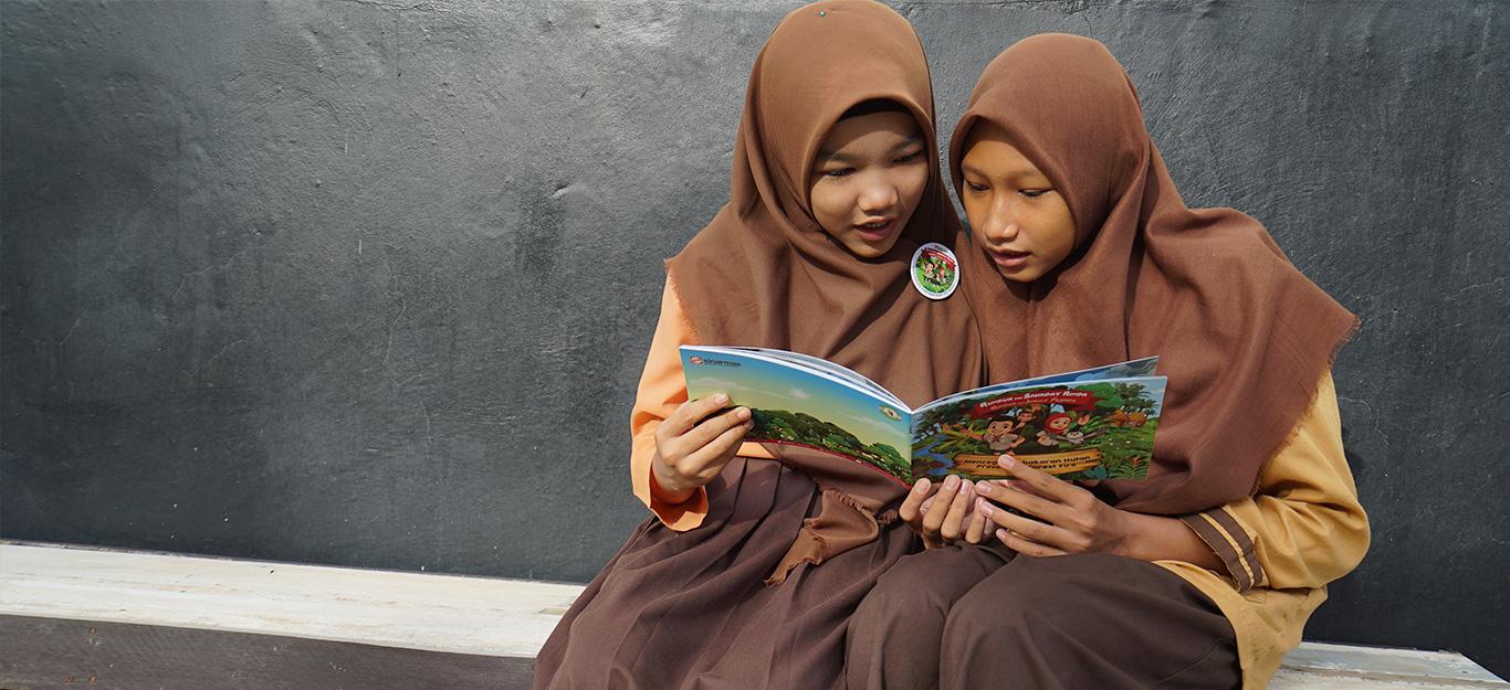Buku Cerita Rumbun dan Sahabat Rimba