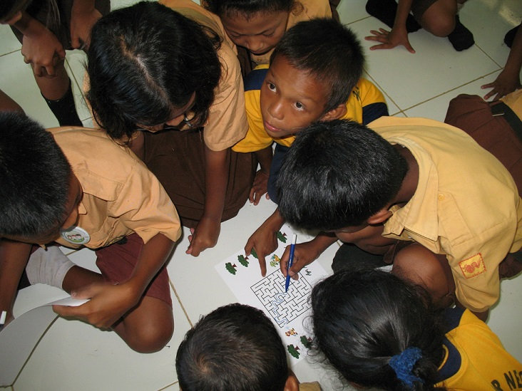 Making learning fun with interactive activities on the prevention of forest fires