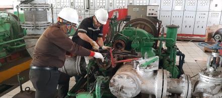 Turbine inspection